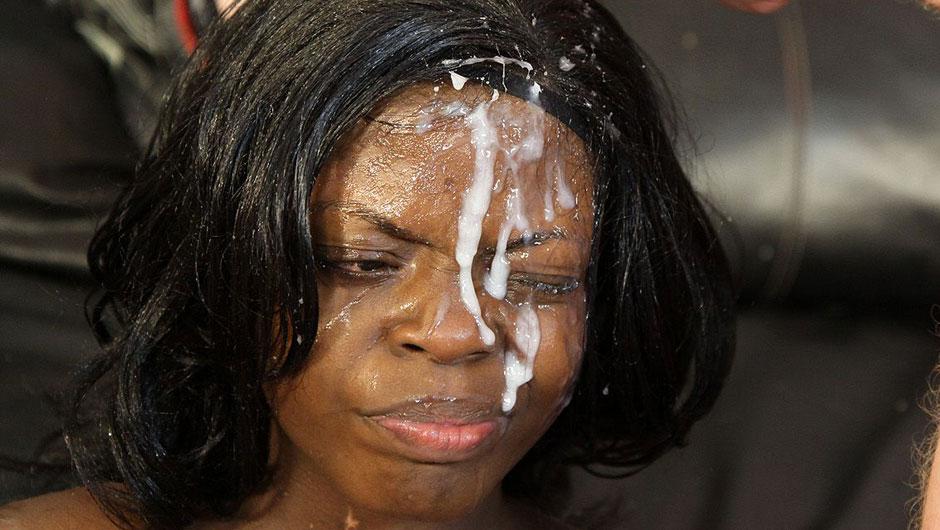 Black Woman Face Svg